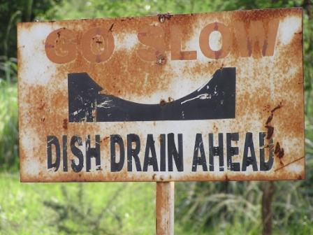 Dish Drain Ahead