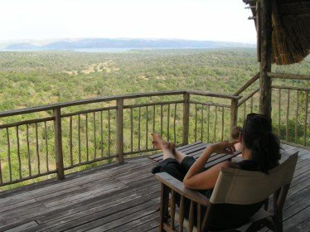 Mihingo Lodge, Lake Mburu
