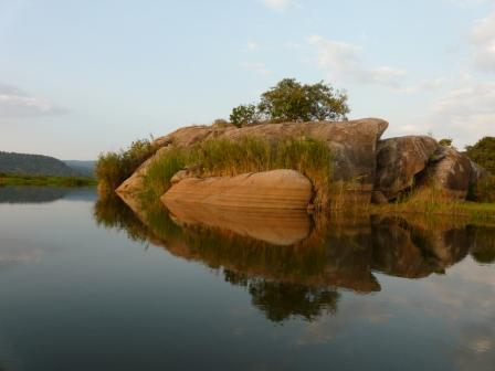 Nile River near Arra Fishing Lodge