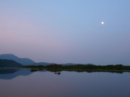 Moonrise on the Nile
