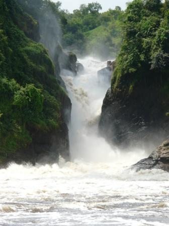 Base of Murchison Falls