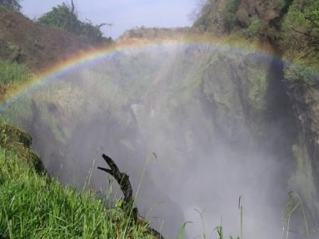 Rainbow at Murchison Falls