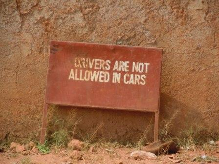 No Drivers in Cars
